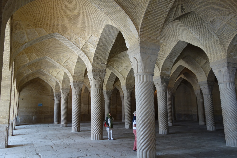 Pillars Vakil mosque